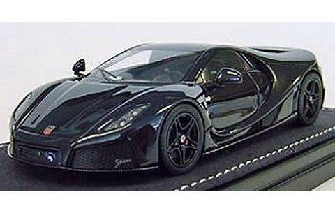SPANIA GTA GTA Spano ブラック (1/43 フロンティアートF025-04)