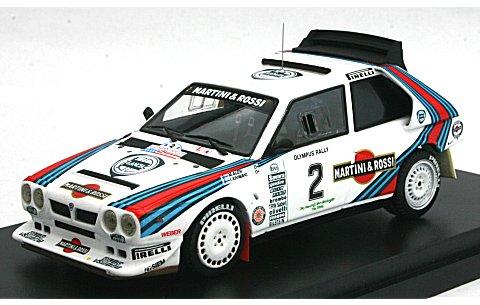 ランチア デルタ S4 No2 1986 OLYMPUS (1/43 hpiレーシング8637)