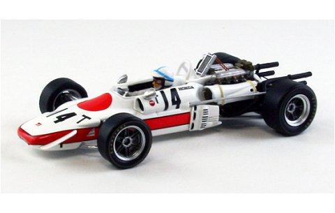 ホンダ F-1 RA302 1968 イタリアGP Practice No14 (1/43 エブロ44385)