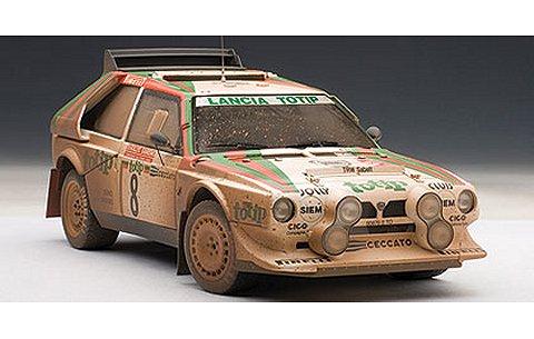 ランチア デルタ S4 1986 No8 サンレモラリー2位/ダリオ・チェラト (1/18 オートアート88619)