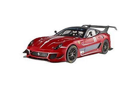 フェラーリ 599XX EVO No11 レッド (1/18 マテルMTBCJ91)