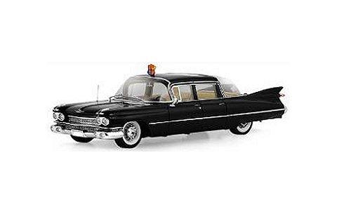 1958 キャデラック シリーズ 75 リムジン バブルトップ 「Queen Elizabeth II」 ブラック (1/43 TSM114334)