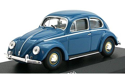 フォルクスワーゲン 1200 1953 ブルー (1/43 ミニチャンプス430052107)