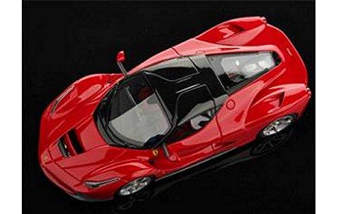 La Ferrari ジュネーブモーターショー 2013 レッド/ルーフ:ブラック (1/43 ルックスマートLS421A)