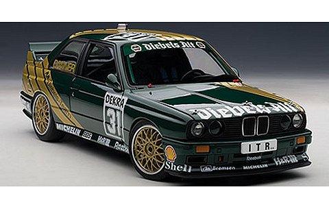 BMW M3 (E30) DTM 1991 No31 「DIEBELS ALT」 クリスチャン・ダナー (1/18 オートアート89148)