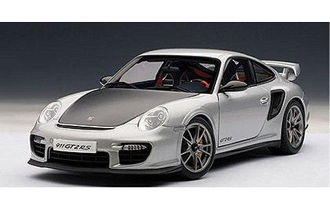 ポルシェ 911 (997) GT2 RS シルバー (1/18 オートアート77961)
