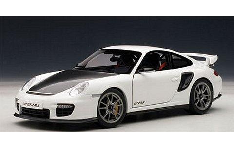 ポルシェ 911 (997) GT2 RS ホワイト (1/18 オートアート77963)