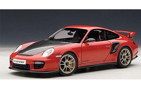 ポルシェ 911 (997) GT2 RS レッド (1/18 オートアート77964)