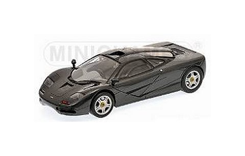 マクラーレン F1 ロードカー 1993 ブラックM (1/18 ミニチャンプス530133420)
