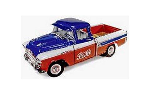 シボレー ピックアップ カマロ 1957 (Pepsi) (1/18 アメリカンマッスルAW207)