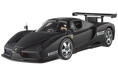 エンツォ フェラーリ TEST MONZA 2003 ブラック (1/18 マテルMT5488X)