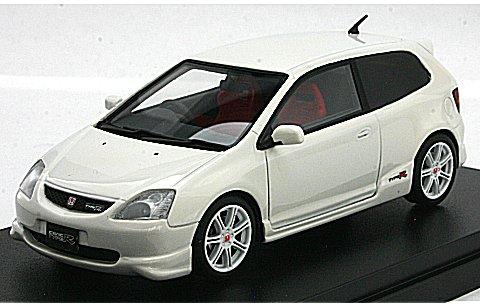ホンダ シビック Type R 2001 チャンピオンシップホワイト (1/43 ハイストーリーHS075WH)