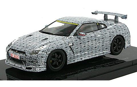 ニッサン GT-R ニスモ 2013 ニュルブルクリンク タイムアタック (1/43 エブロ45050)
