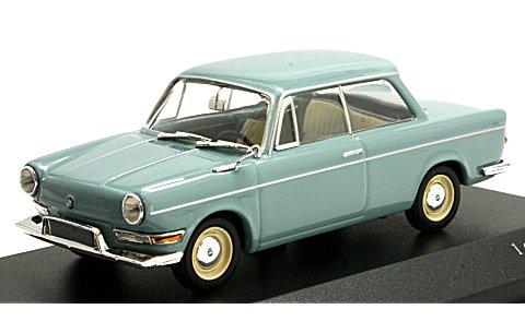 BMW 700 L 1960 ブルー (1/43 ミニチャンプス430023705)