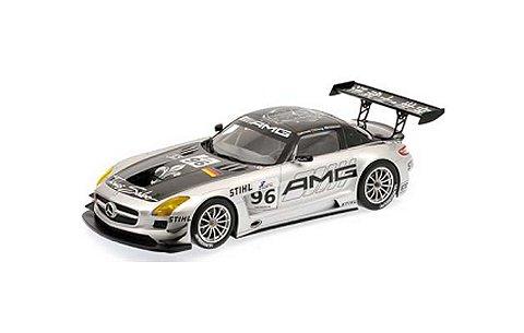 メルセデスベンツ SLS AMG GT3 「TEAM AMG CHINA」 HAKKINEN/CHENG/ARNOLD 6h ZHUHAI 2011 (1/43 ミニチャンプス410113296)