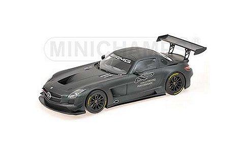 メルセデスベンツ SLS AMG GT3 「45YEARS OF DRIVING PERFORMANCE」 2012 (1/43 ミニチャンプス410113200)
