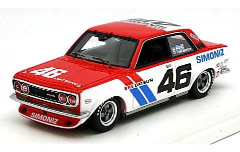 ダットサン 510 BRE 1972 SCCA チャンピオン No46 ジョン・モートン (1/43 トゥルースケールミニチュアズ TSM124382)