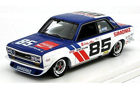 ダットサン 510 BRE 1972 No85 ボビー・アリソン (1/43 トゥルースケールミニチュアズ TSM124383)
