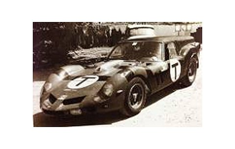 フェラーリ 250 GTO Breadvan NoT 1962 (1/43 フジミFJM1343018)