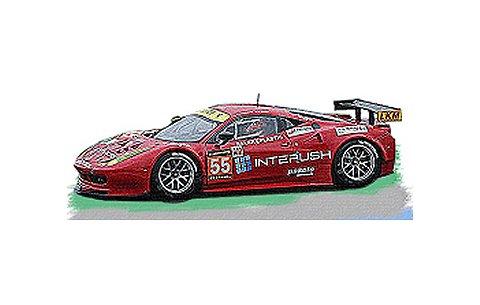 フェラーリ 458 Italia GT2 AF Corse GTE AM No55 2013 (1/43 フジミFJM1443003)