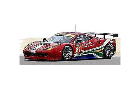 フェラーリ 458 Italia GT2 AF Corse GTE AM No61 2013 (1/43 フジミFJM1443004)