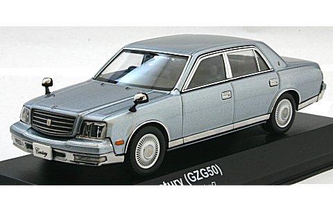 トヨタ センチュリー (瑞雲/ライトブルー) (1/43 京商K03633LB)