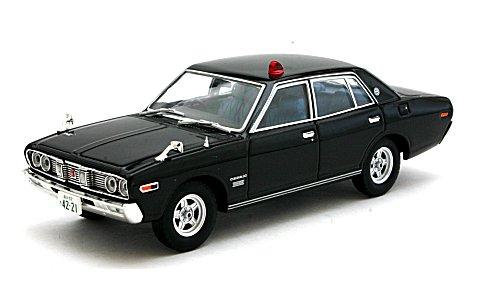 西部警察 02 ニッサン セドリック パトロールカー 黒 (1/43 トミーテック272106)