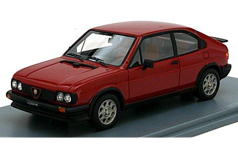 アルファロメオ アルファスッド Ti 1.5 Quadrifoglio Verde 1982 レッド (1/43 ネオNEO45595)