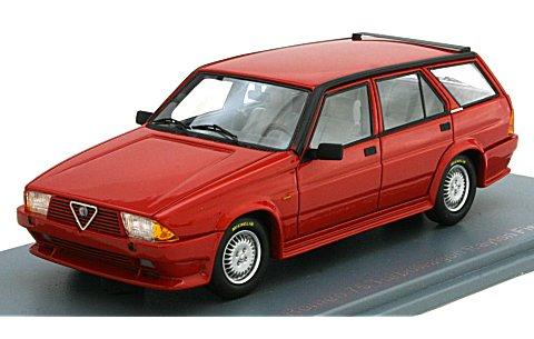 アルファロメオ 75 ターボ ワゴン Rayton Fissore 1986 レッド (1/43 ネオNEO45045)