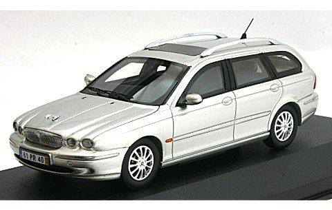 ジャガー X-TYPE ワゴン 2004 シルバー (1/43 プレミアムX PR0195)