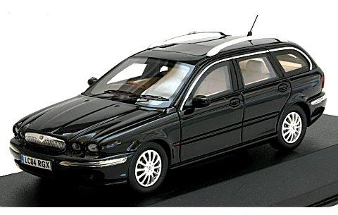 ジャガー X-TYPE ワゴン 2004 ブラック (1/43 プレミアムX PR0196)