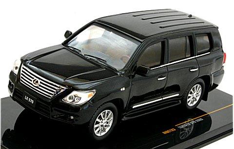 レクサス LX570 2010 ブラック (1/43 イクソMOC123)