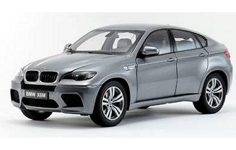 BMW X6 M スペースグレー (1/18 京商K08762SG)