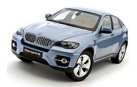 BMW アクティブハイブリッド X6 ブルーウォーターM (1/18 京商K08763BW)