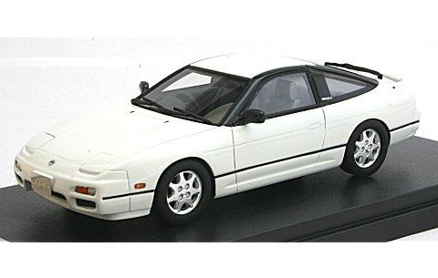 ニッサン 180SX TYPE X 1994 ホワイト (1/43 ハイストーリーHS079WH)