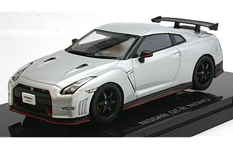ニッサン GT-R ニスモ シルバー (1/43 エブロ45051)