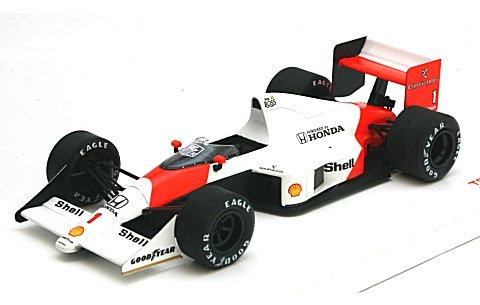 マクラーレン MP4/5 1989 モナコGP1位 No1 アイルトン・セナ (1/43 トゥルースケールミニチュアズTSM124331)