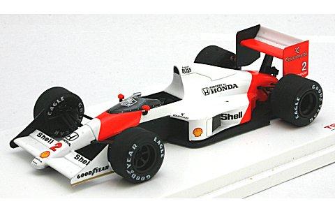 マクラーレン MP4/5 1989 フランスGP1位 No2 アラン・プロスト (1/43 トゥルースケールミニチュアズTSM124332)