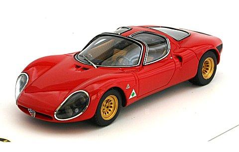 アルファロメオ 33 ストラダーレ 1967 プロトタイプ (1/43 トゥルースケールミニチュアズ TSM124308)