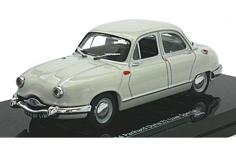 パナール ディナ Z1 Luxe Special グレイ 1954 (1/43 ビテス23590)