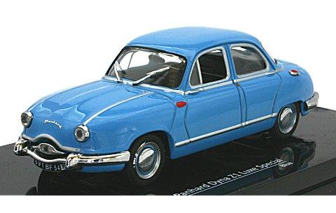 パナール ディナ Z1 Luxe Special ブルー 1954 (1/43 ビテス23591)