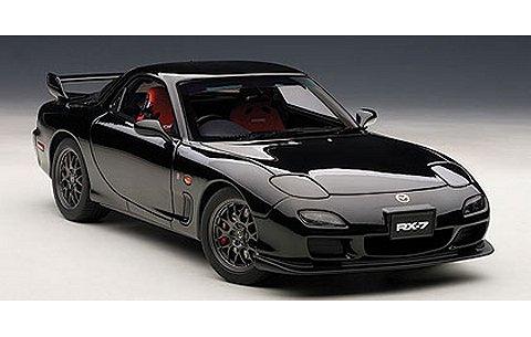 マツダ RX-7 (FD) スピリットR タイプA ブラック (1/18 オートアート75986)