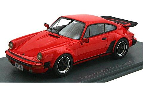 ポルシェ 911 (930) ターボ 3.3 1980 レッド (1/43 ネオNEO43258)