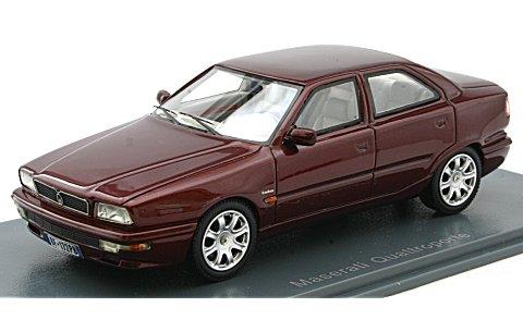 マセラティ クアトロポルテ IV 1994 レッド (1/43 ネオNEO45172)