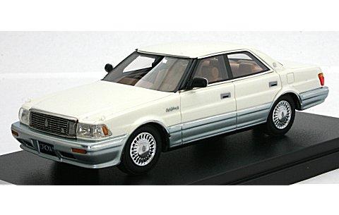 トヨタ クラウン 4ドア ハードトップ 4000 ロイヤルサルーン G ホワイトパールマイカトーニングG (1/43 ハイストーリーHS080WH)