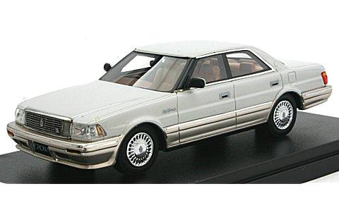 トヨタ クラウン 4ドア ハードトップ 4000 ロイヤルサルーン G ウォームグレーパールマイカトーニングG (1/43 ハイストーリーHS080WG)