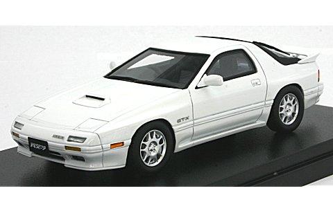 マツダ サバンナ RX-7 GT-X 1989 クリスタルホワイト (1/43 ハイストーリーHS081WH� title=