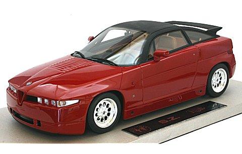 アルファロメオ SZ 1989 レッド (1/18 トップマーカスTOP01R)