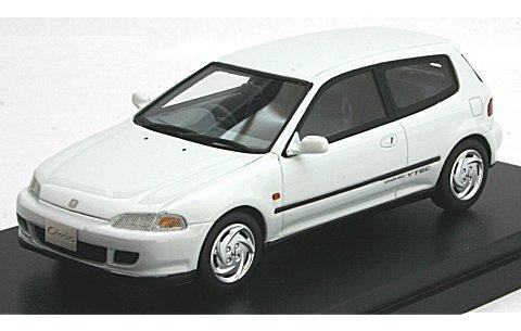 ホンダ シビック SiR-II 1991 フロストホワイト (1/43 ハイストーリーHS082WH)