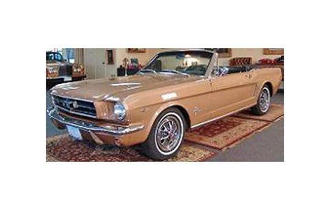 フォード マスタング コンバーチブル 1964.5 50th Anniversary ブロンズゴールド (1/18 アメリカンマッスルAMM1032)